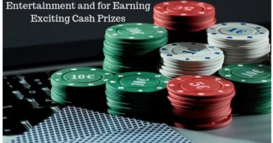 Casino Games online For Entertainment and for Earning Exciting Cash Prizes