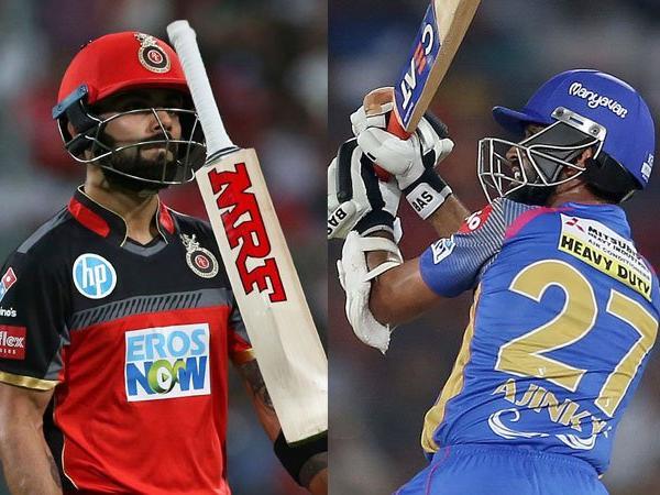 Kohli vs Rahane IPL 2018