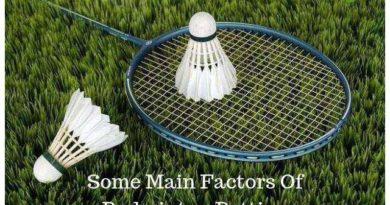 Some Main Factors Of Badminton Betting