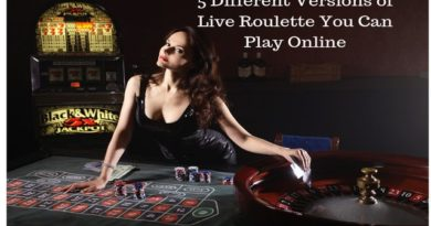 5 Different Types of Live Roulette You Can Play