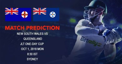 Cricket Prediction JLT One-Day Cup – New South Wales take on Queensland in a must win game – October 01, 2018