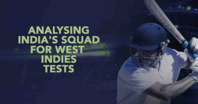 Analyzing India's squad for West Indies Tests – October 01, 2018