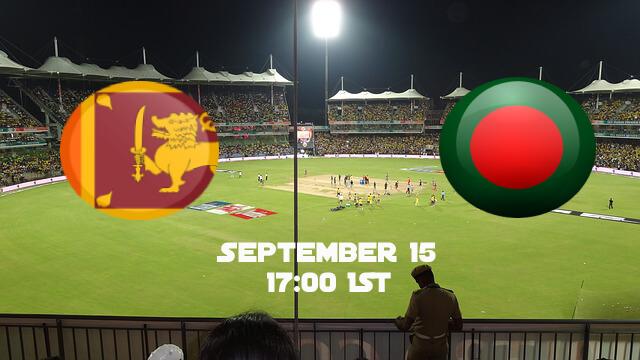 Asia Cup Sri Lanka - Bangladesh