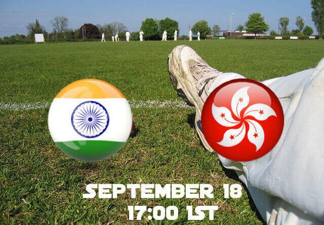India VS Hong Kong