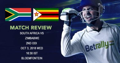 Cricket Match Review Zimbabwe Tour of South Africa – South Africa crush Zimbabwe as Steyn and Tahir lead the rout – October 03, 2018