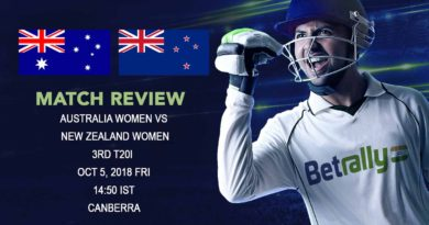 Cricket Review New Zealand Women Tour of Australia 2018/19 - Australia Women complete the series win over New Zealand in style - October 5, 2018