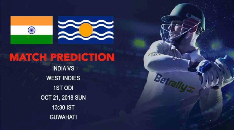 Cricket Prediction West Indies tour of India – One-sided clash in store as India take on depleted West Indies – October 21, 2018