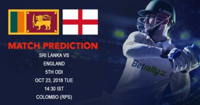 Cricket Prediction England tour of Sri Lanka 2018/19 – Fans trust on line as Sri Lanka take on England in final ODI – October 23, 2018
