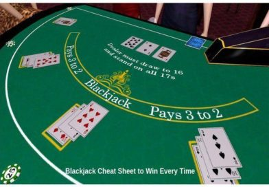 Blackjack Cheat Sheet to Win Every Time