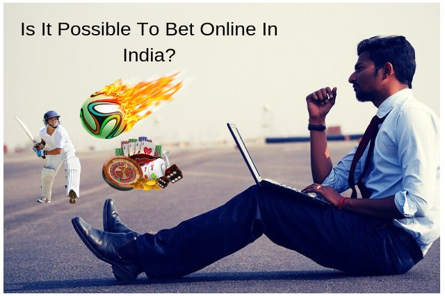 Is it possible to bet online in India?