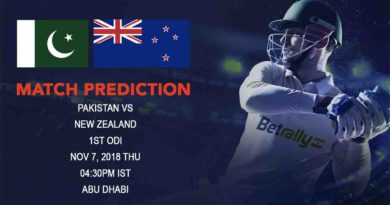 Cricket Prediction New Zealand tour of United Arab Emirates 2018/19 – In form Pakistan look to get rid of their ODI woes against New Zealand – November 7, 2018