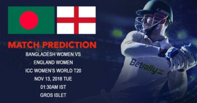 Cricket Prediction ICC Women's World T20 – Asia Cup winner Bangladesh women take on England women in their second game – November 13, 2018