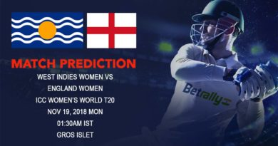 Cricket Prediction ICC Women's World T20 – West Indies and England women take on each other in the final group game – November 19, 2018