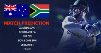 Cricket Prediction South Africa tour of Australia – South Africa take on struggling Australia in First ODI – November 4, 2018