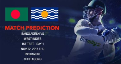Cricket Prediction Windies tour of Bangladesh 2018 First Test – Windies arrive to battle with Bangladesh – November 22, 2018