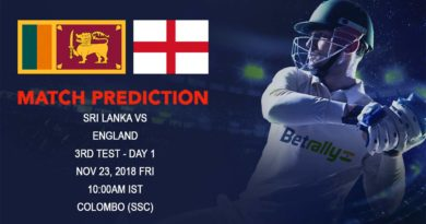 Cricket Prediction England tour of Sri Lanka 2018/19 – England look to seize the opportunity to clean sweep Sri Lanka – November 23, 2018