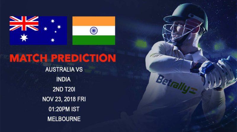 Cricket Prediction India tour of Australia – Australia look to seal the series against India – November 23, 2018