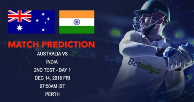 Cricket Prediction India Tour of Australia – Australia vs India – Australia look to beat India with pace