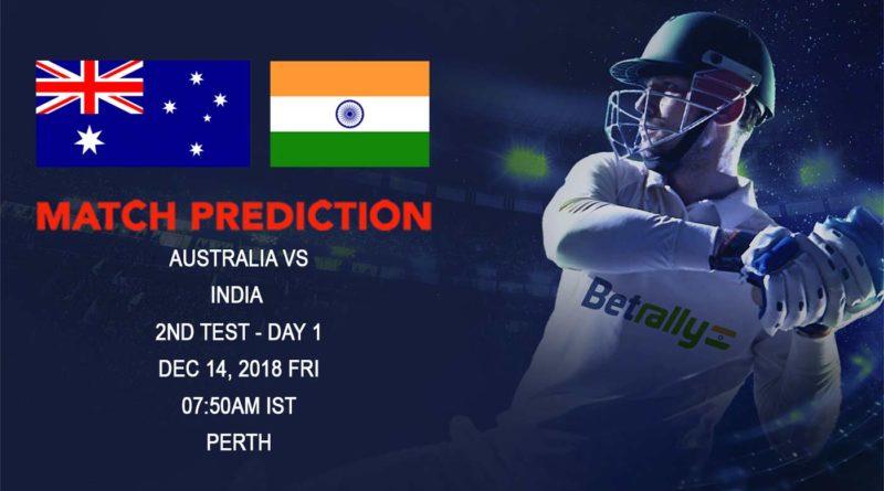 Cricket Prediction India Tour of Australia – Australia vs India – Australia look to beat India with pace