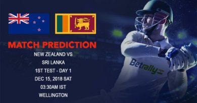 Cricket Prediction Sri Lanka tour of New Zealand 2018/19 – Sri Lanka vs New Zealand – New Zealand take on Sri Lanka in home conditions