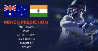 Cricket Prediction India tour of Australia – Australia vs India – India look for their historic series win in Australia