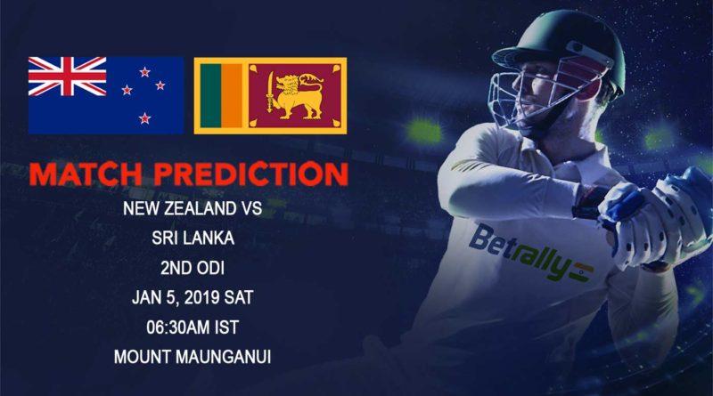 Cricket Prediction Sri Lanka tour of New Zealand 2018/19 – New Zealand vs Sri Lanka – New Zealand and Sri Lanka continue their battle in Second ODI