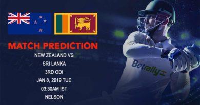 Cricket Prediction Sri Lanka tour of New Zealand 2018/19 – New Zealand vs Sri Lanka – Sri Lanka look to finish on a high despite losing the series