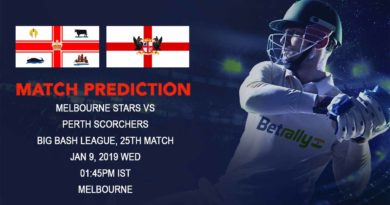 Cricket Prediction Big Bash League – Melbourne Stars vs Perth Scorchers – Can Perth Scorchers surprise Melbourne Stars?