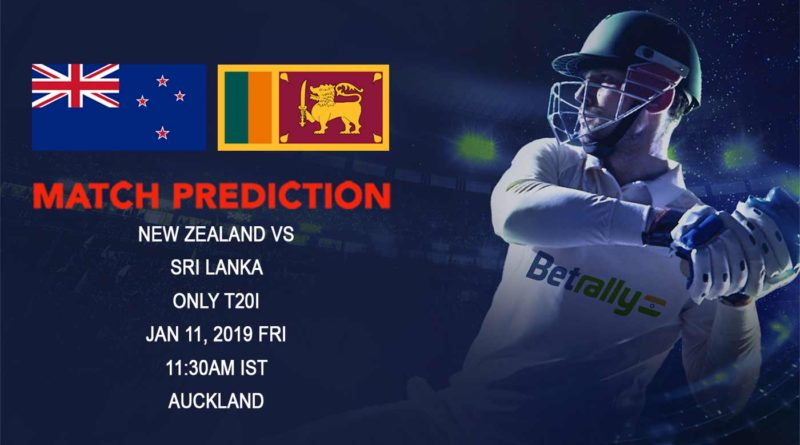 Cricket Prediction Sri Lanka tour of New Zealand 2018/19 – New Zealand vs Sri Lanka – Sri Lanka desperately look to end the tour with a win