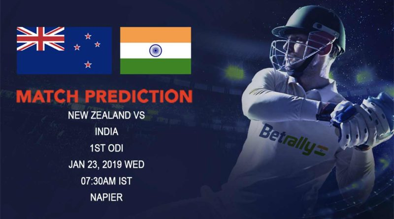 Cricket Prediction India tour of New Zealand – New Zealand vs India – New Zealand and India take on each other in the first ODI of an exciting series