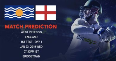 Cricket Prediction England tour of West Indies – West Indies vs England – West Indies look to impress at home against England