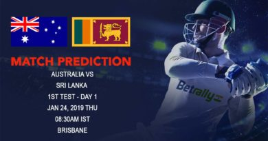 Cricket Prediction Sri Lanka tour of Australia 2018/19 – Australia vs Sri Lanka – Struggling Australia and Sri Lanka look to leave poor form behind