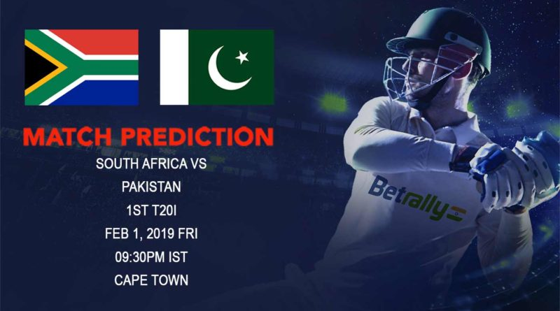 Cricket Prediction Pakistan tour of South Africa 2018/19 – South Africa vs Pakistan – Pakistan look to excel in their best format