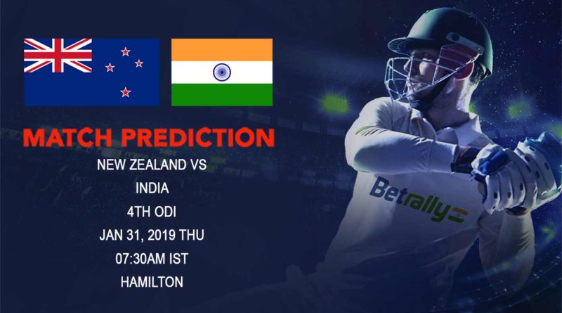 Cricket Prediction India tour of New Zealand – New Zealand vs India – New Zealand look to avoid fourth loss in a row
