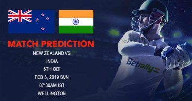 Cricket Prediction India tour of New Zealand – New Zealand vs India – New Zealand look to end the series on a high