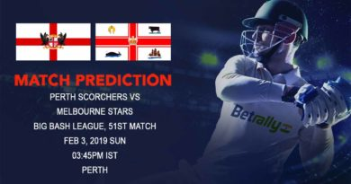 Cricket Prediction Big Bash League – Perth Scorchers vs Melbourne Stars – Melbourne Stars look to continue their quest for semifinal spot