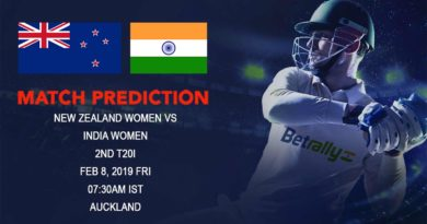 Cricket Prediction India Women tour of New Zealand – New Zealand women vs India women – New Zealand women take on India women in the second T20