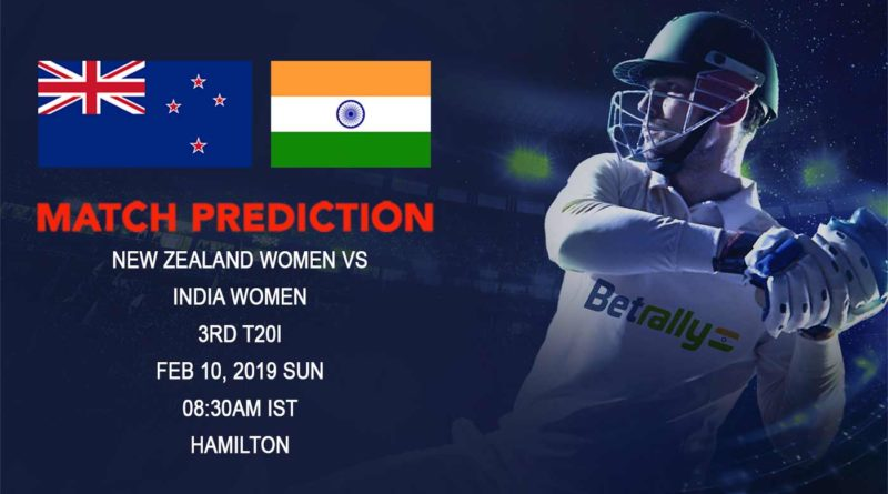 Cricket Prediction India Women tour of New Zealand – New Zealand women vs India women – New Zealand women look to clean sweep India