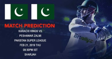 Cricket Prediction Pakistan Super League – Karachi Kings vs Peshawar Zalmi – Karachi Kings take on Peshawar in their third game