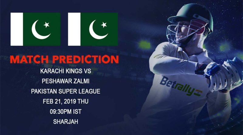 Cricket Prediction Pakistan Super League – Karachi Kings vs Peshawar Zalmi – Karachi Kings take on Peshawar in their third game
