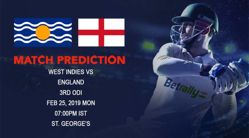 Cricket Prediction England tour of West Indies – West Indies vs England – Inspired West Indies look to topple England again