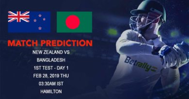 Cricket Prediction Bangladesh tour of New Zealand – New Zealand vs Bangladesh – New Zealand look to continue their dominance over Bangladesh
