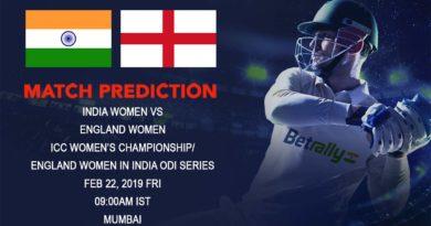 Cricket Prediction ICC Women's Championship – India women vs England women – England women take on India women in the first ODI