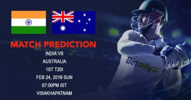 Cricket Prediction Australia tour of India – India vs Australia – India and Australia clash in the first T20 game