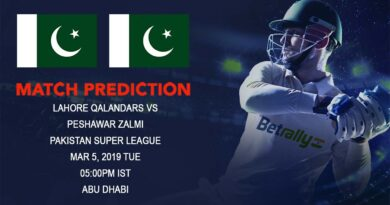 Cricket Prediction Pakistan Super League – Lahore Qalandars vs Peshawar Zalmi – Lahore Qalandars face a stern test against Peshawar Zalmi