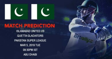 Cricket Prediction Pakistan Super League – Islamabad United vs Quetta Gladiators – Islamabad United and Quetta Gladiators take on each other