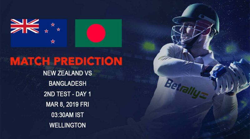 Cricket Prediction Bangladesh tour of New Zealand – New Zealand vs Bangladesh – New Zealand look to continue their ascendancy in the series