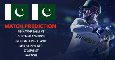 Cricket Prediction Pakistan Super League – Peshawar Zalmi vs Quetta Gladiators – Familiar foes take on each other in the qualifier