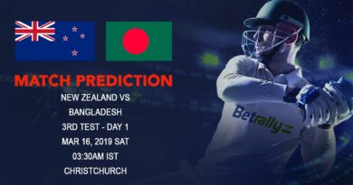 Cricket Prediction Bangladesh tour of New Zealand – New Zealand vs Bangladesh – Desperate Bangladesh look to show improvement in 3rd Test