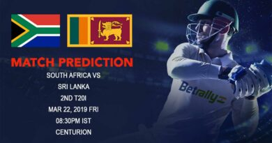 Cricket Prediction Sri Lanka tour of South Africa – South Africa vs Sri Lanka – South Africa look to seal the T20 series